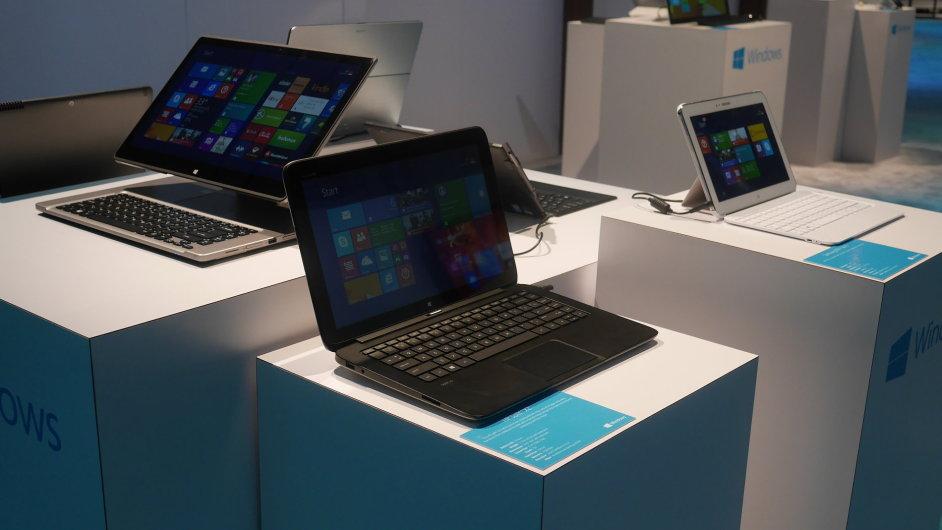 Prezentace Microsoftu na veletrhu International CES