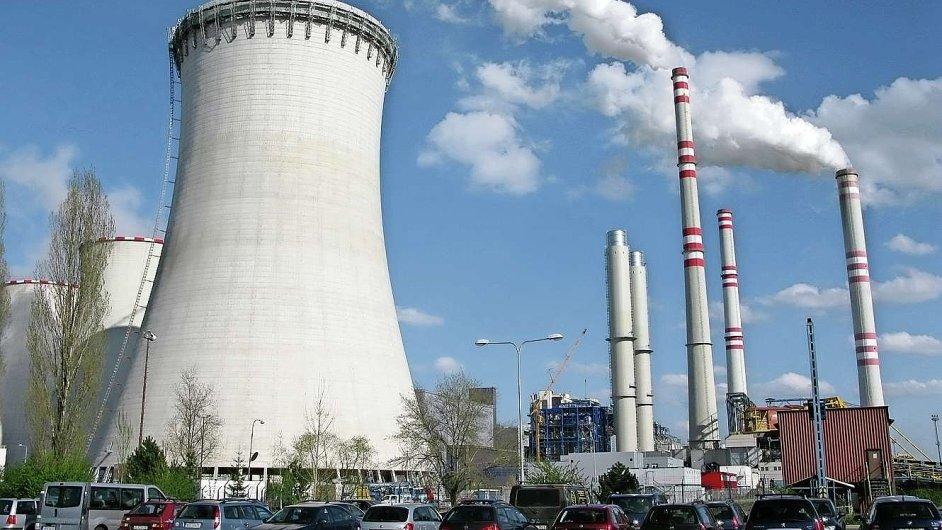 Poslední chladicí věž postavená firmou CHVP stojí v Počeradech.