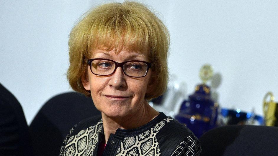 Ministryně spravedlnosti Helena Válková