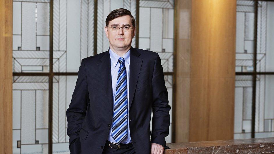 Člen bankovní rady ČNB Lubomír Lízal