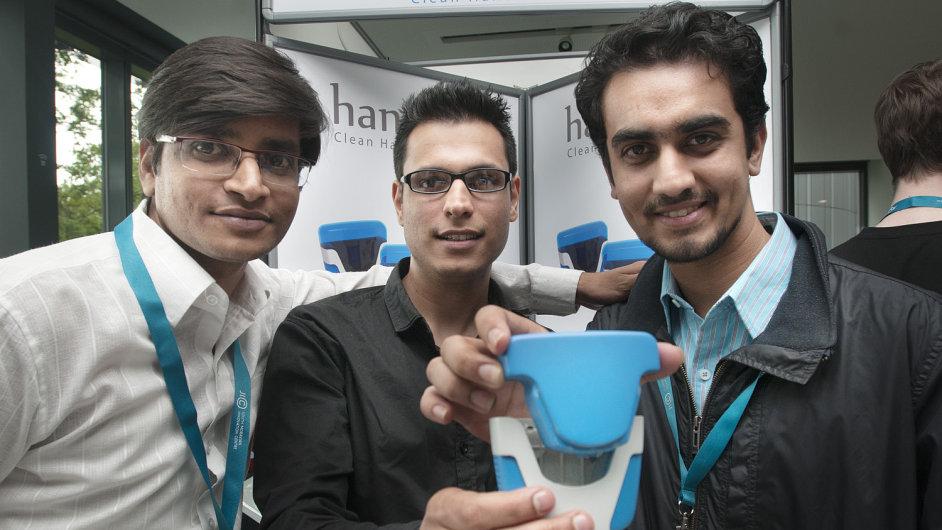 Vítězný tým StarCube Show 2014 a jejich produkt Hansure