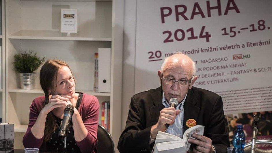 Jean-Michel Guenassia byl hostem veletrhu Svět knihy.