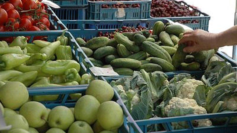 Zelenina bez obalu. Ilustrační foto