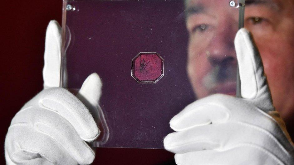 Nejcennější známka světa One-Cent Magenta
