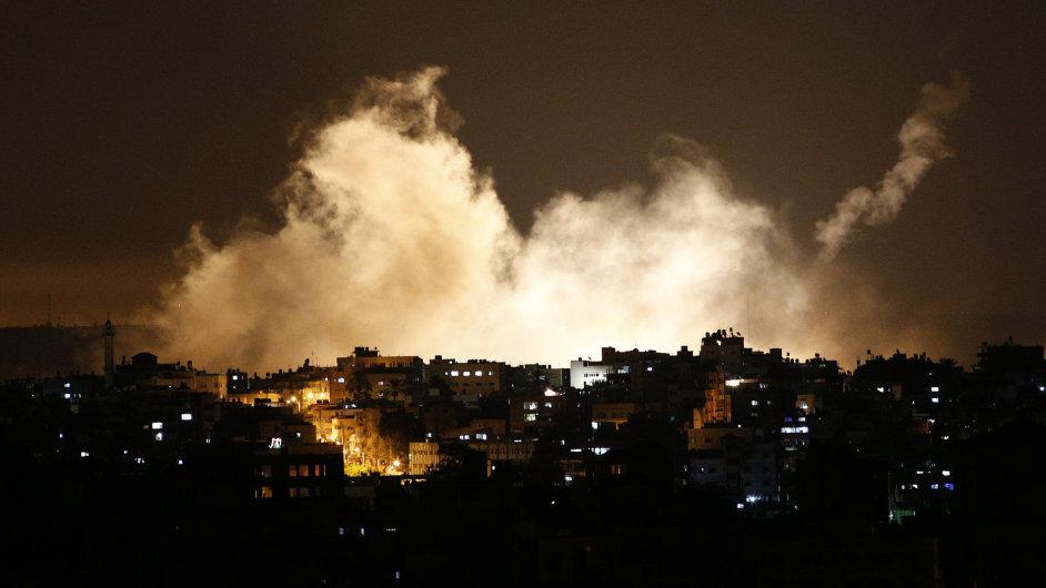 Válka v Gaze.