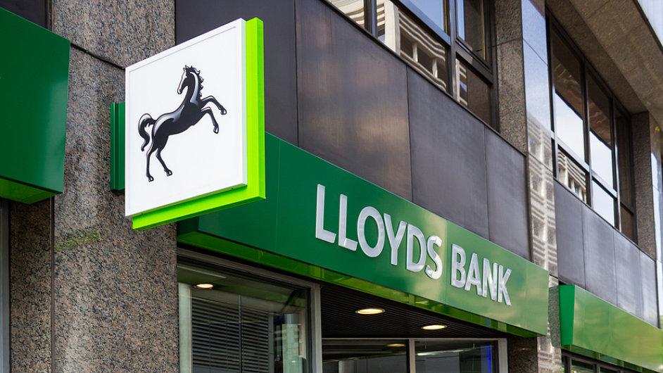 Banka Lloyds zaplatí pokutu za podvody.