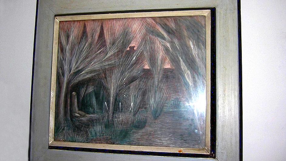 Odborný odhad ocenil obraz Jana Zrzavého Karlachovy sady na 2,5 milionu korun.