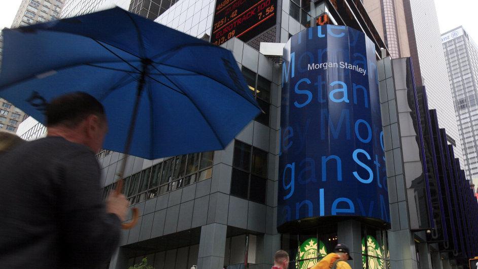 Čtvrtletní výsledky Morgan Stanley překonaly odhady. Zisk vzrostl meziročně o 60 procent - Ilustrační foto.