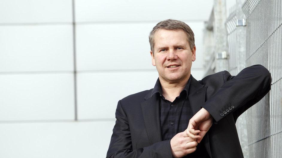 """""""Stále vidím velký potenciál firmy a mám velké vize,"""" říká zakladatel a majitel firmy ELKO EP Jiří Konečný."""