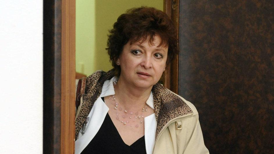 Předsedkyně Akreditační komise Vladimíra Dvořáková