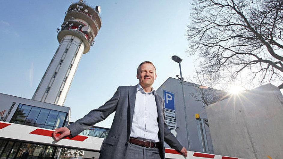 Martin Gebauer, generální ředitel Českých radiokomunikací