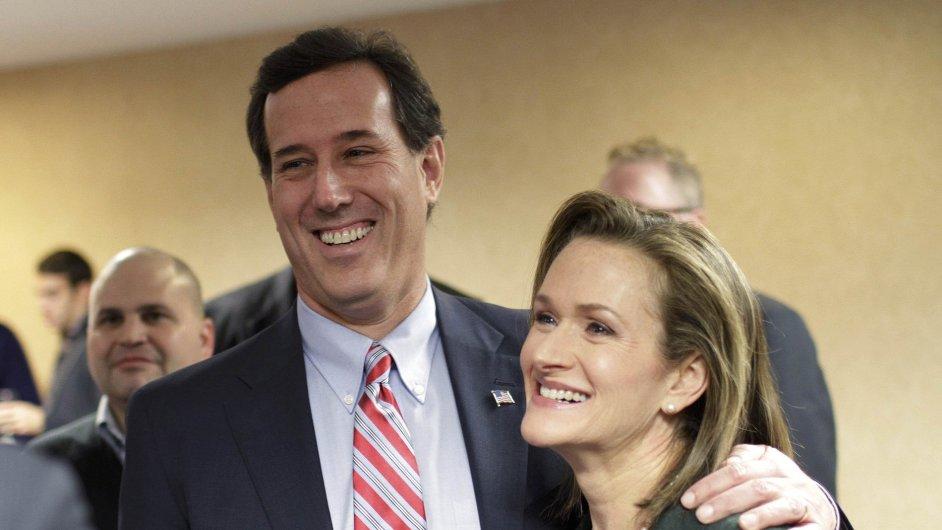 Karen Santorumová a Rick Santorum