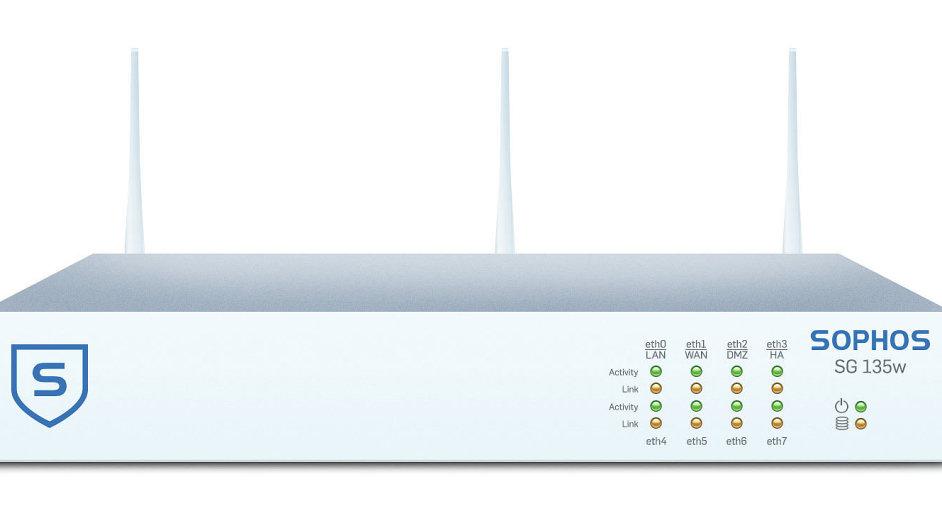Desktopový firewall SG 135w s Wi-Fi