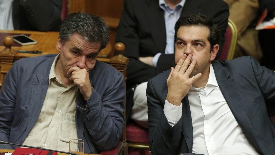 Čekání na verdikt. Řecký parlament nakonec v noci na čtvrtek požadovaný balík reforem schválil.
