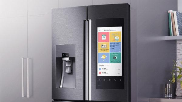 Chladni�ka se zabudovan�m tabletem Samsung Family Hub