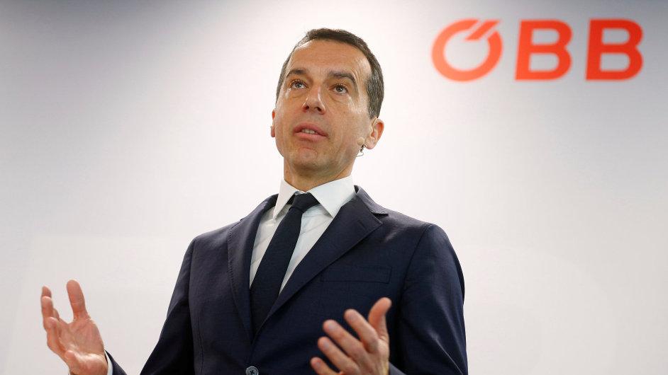 Christian Kern, nový rakouský kancléř