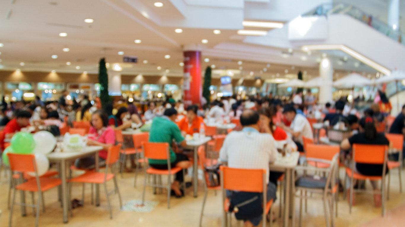 Food court - Ilustrační foto.