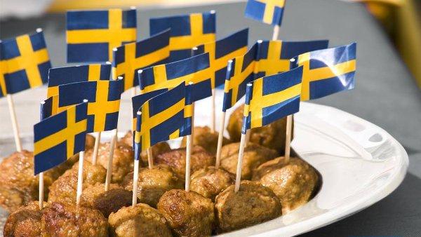 Typické masové jídlo v restauracích Ikea