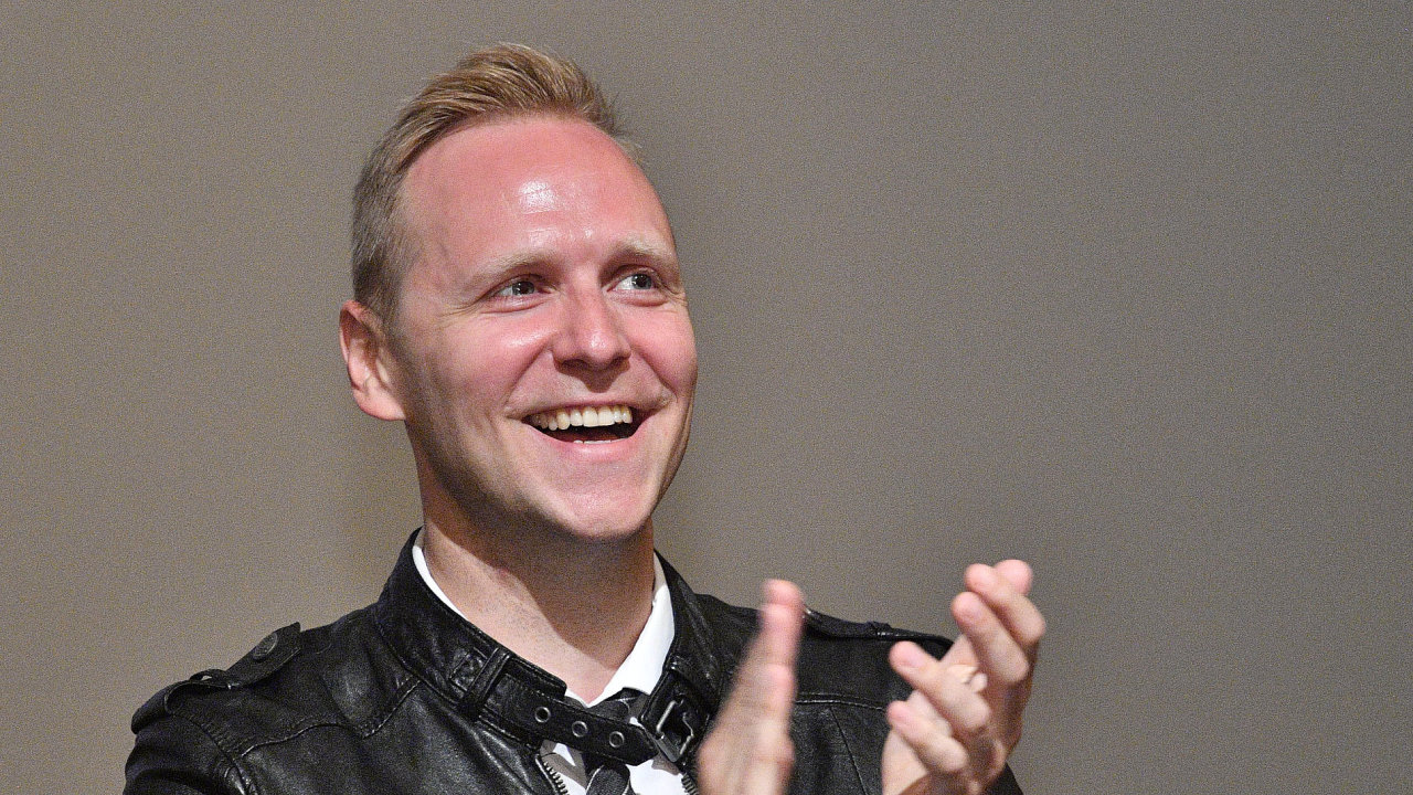 Na snímku je umělecký ředitel činohry Daniel Špinar.