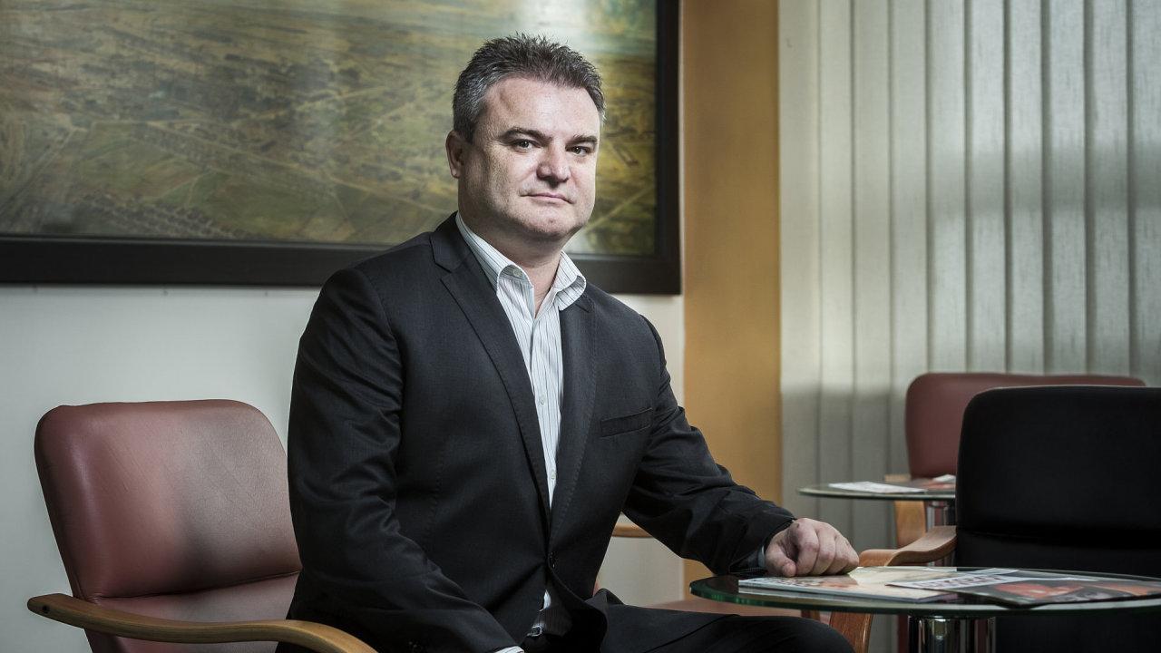 Libor Witassek, generální ředitel společnosti Vítkovice a.s.