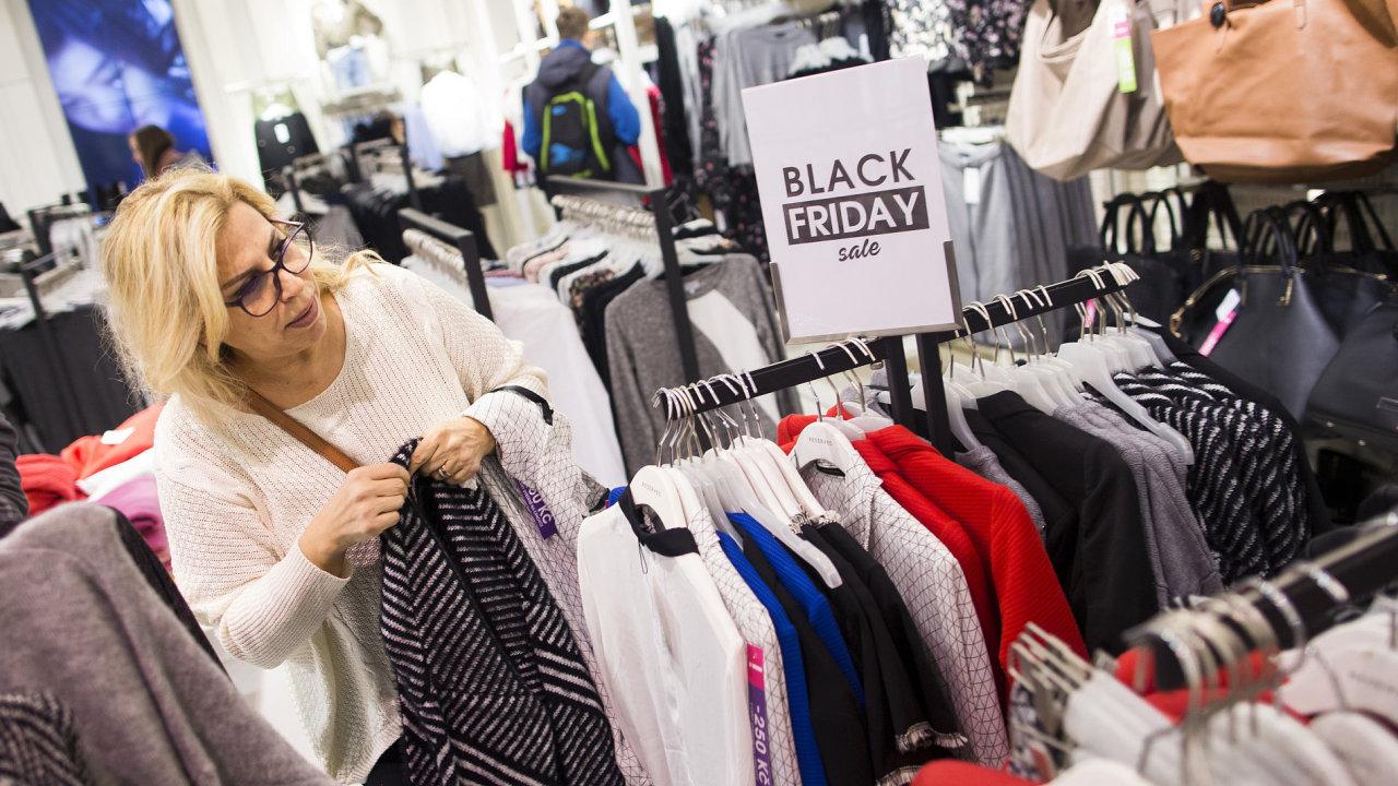 Nakupování, nákupy, černý pátek