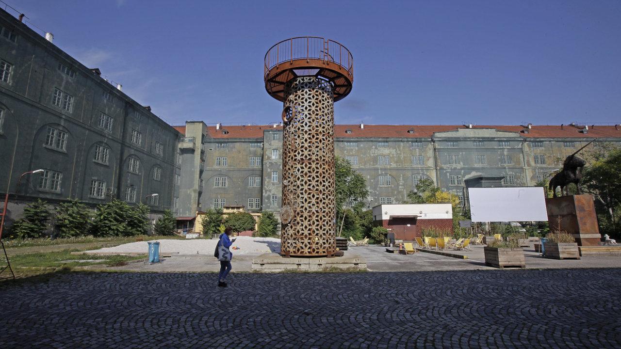 V pražských Kasárnech Karlín se nedávno konal festival 4+4 dny v pohybu.
