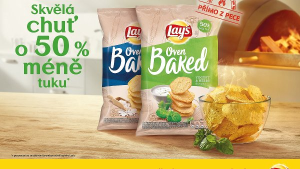 Pečené chipsy mají oslovit lidi se zájmem o zdravý životní styl.
