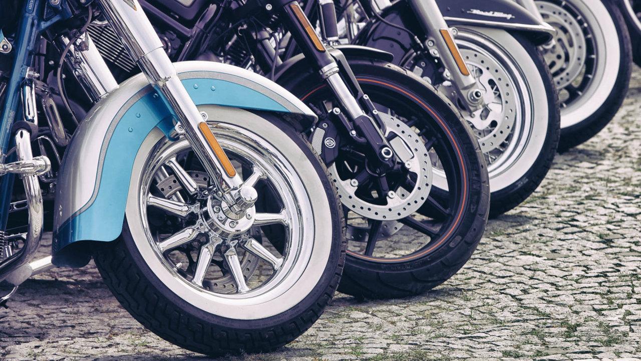 Celkem je v České republice registrováno 1,15 milionu motocyklů s průměrným stářím přes 33 let.
