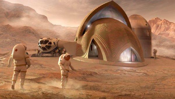 Dům na Marsu od týmu SEArch+/Apis Co.