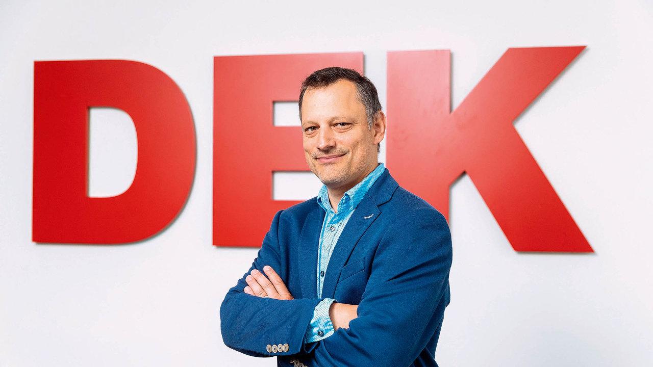 Ředitel logistiky Stavebnin DEK Tomáš Rozsíval