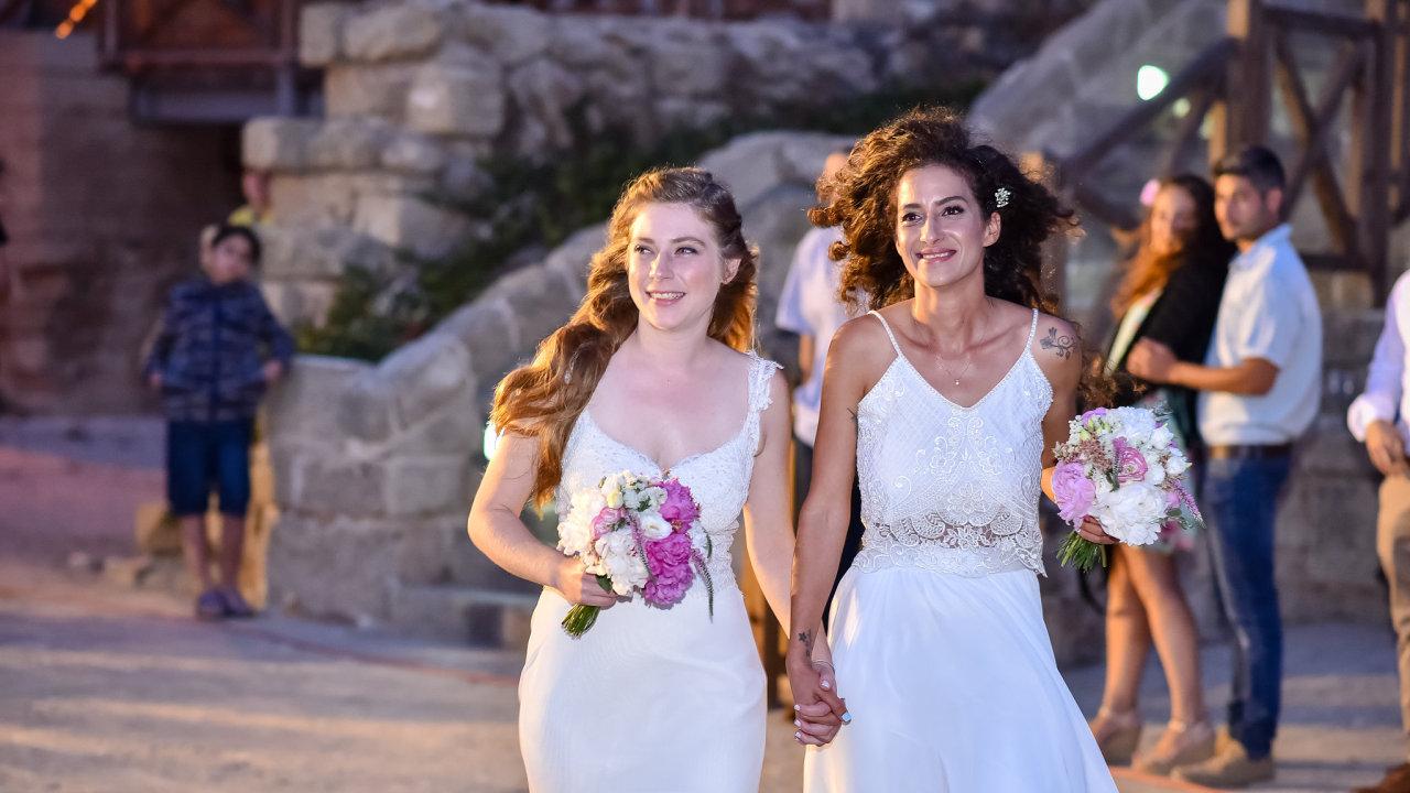 Svatba manželství homosexuálů, homosexuálové, homosexualita, lesby, lesbičky, LGBT