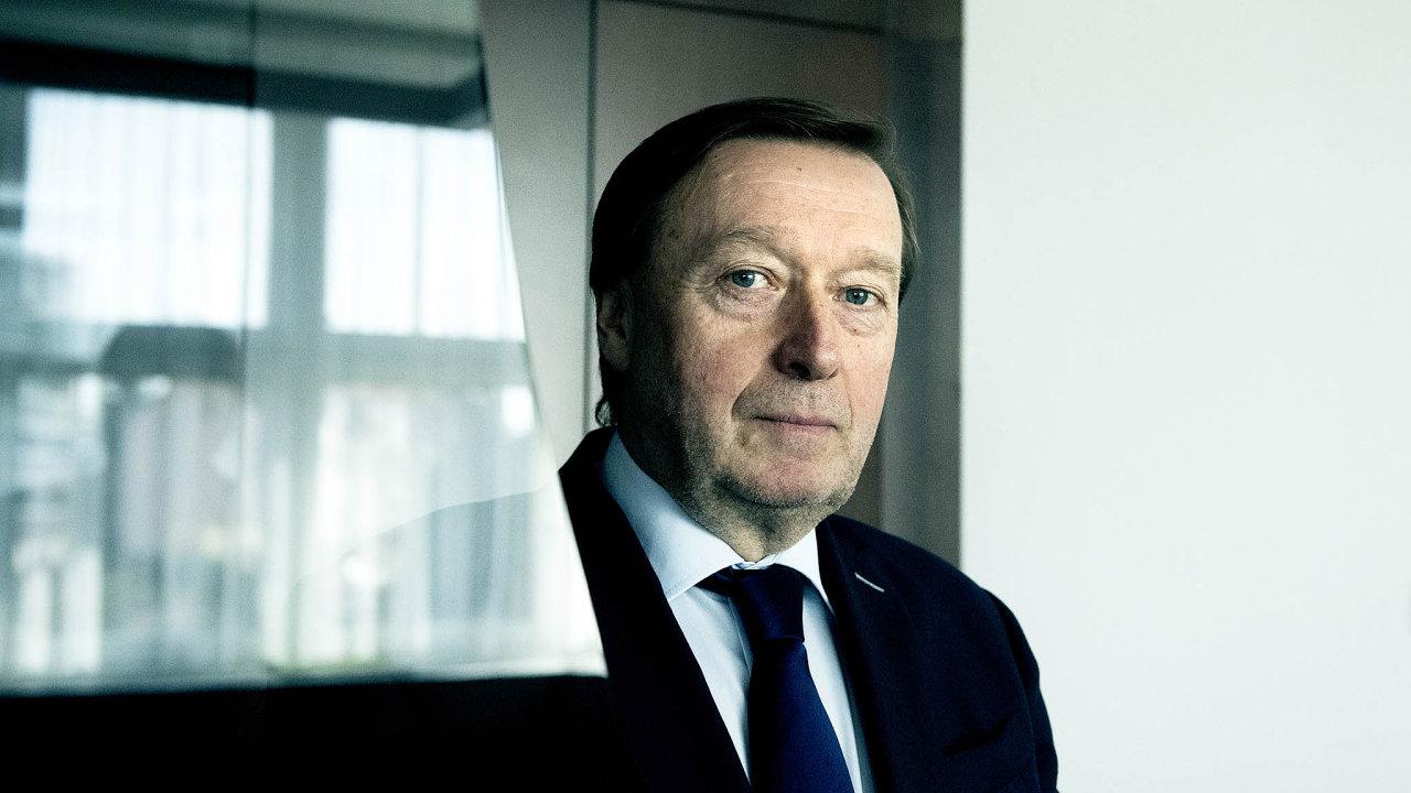 Zdeněk Chrdle, šéf AŽD Praha.