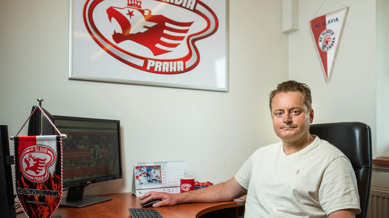 Stanislav Tichý věří, že nyní by mohla začít pro jeho hokejovou Slavii radostnější éra.