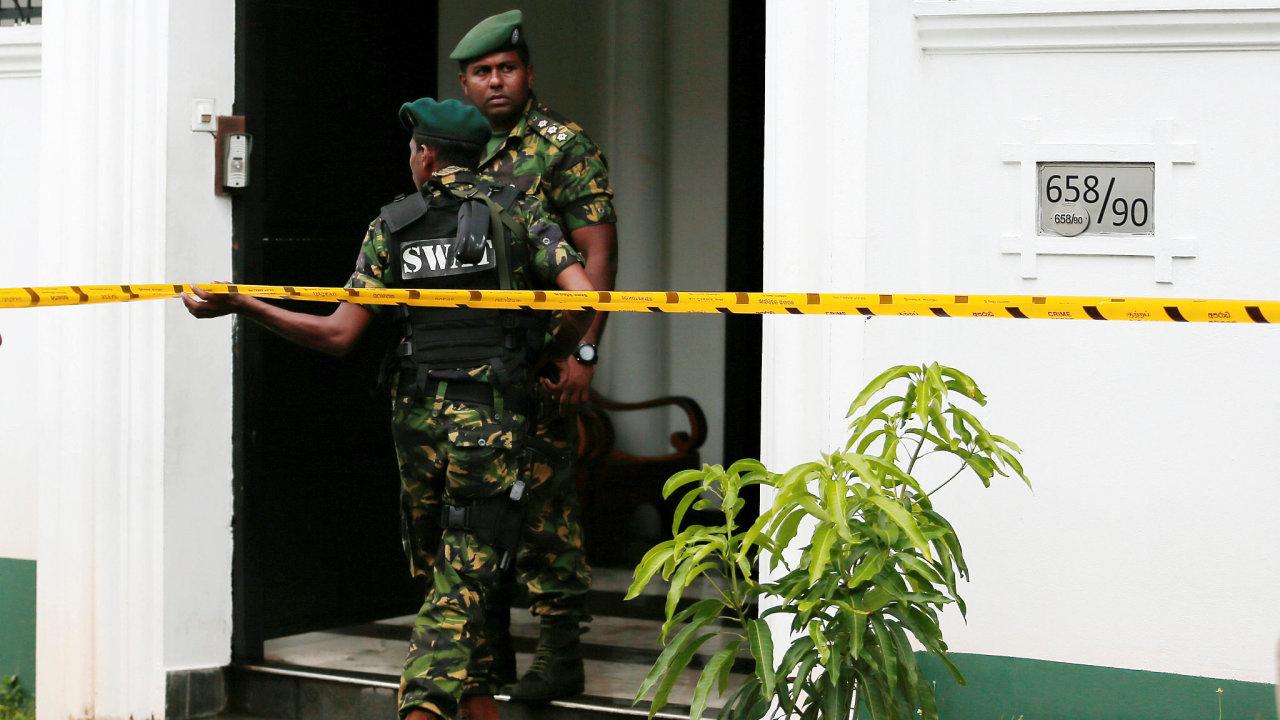 Útoky na Srí Lance