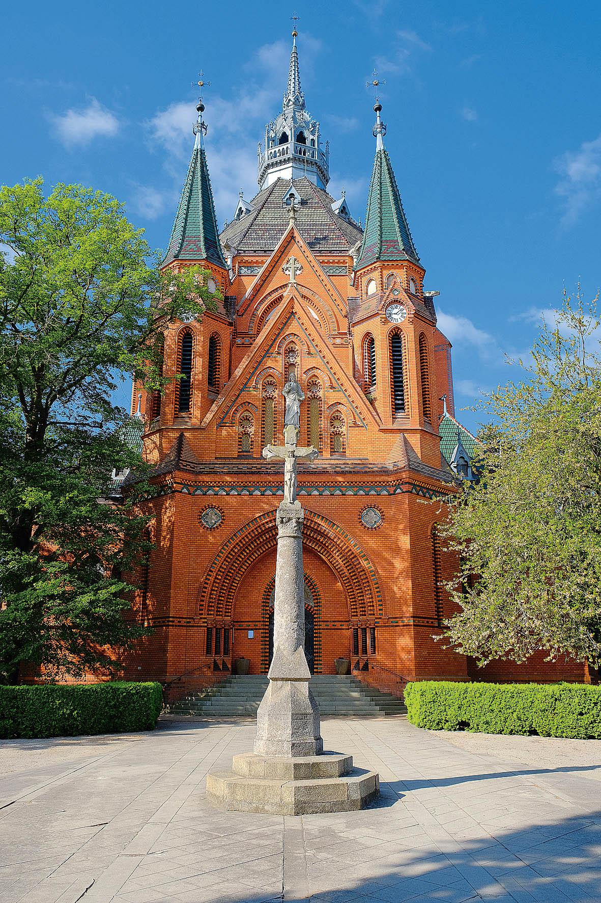 Kostel Navštívení Panny Marie vměstské části Poštorná