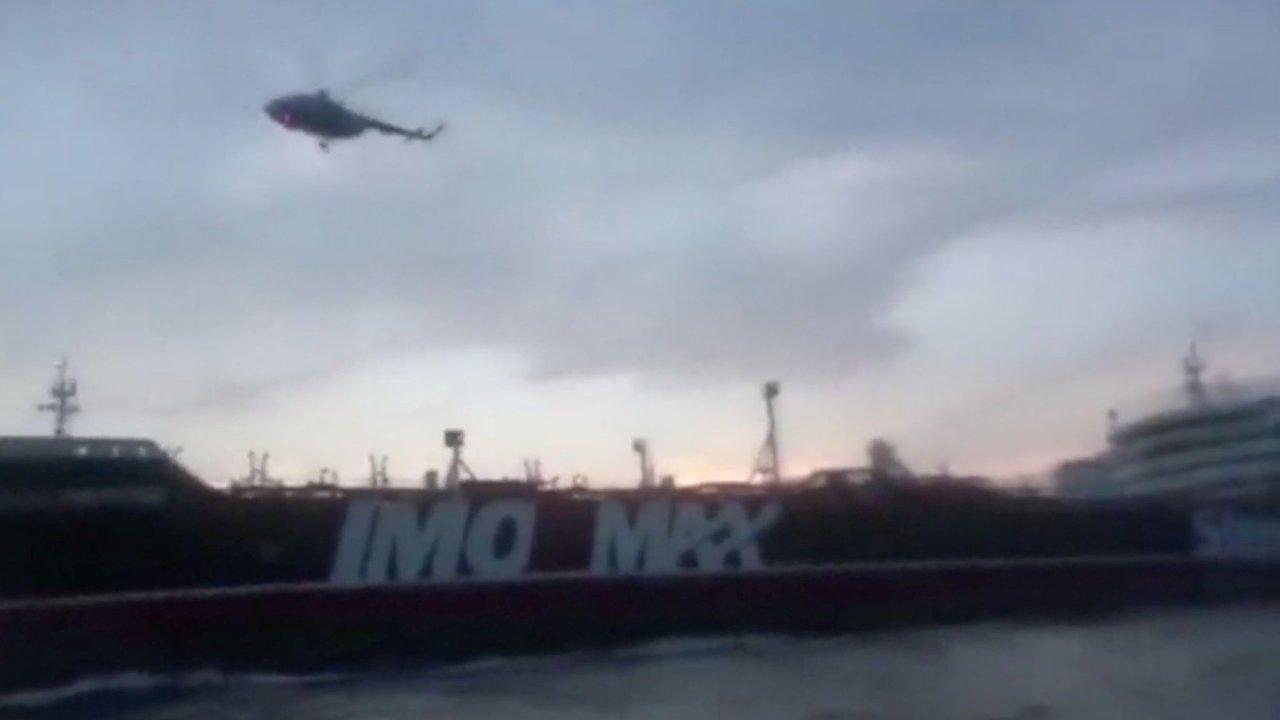 Írán tanker Stena Impero