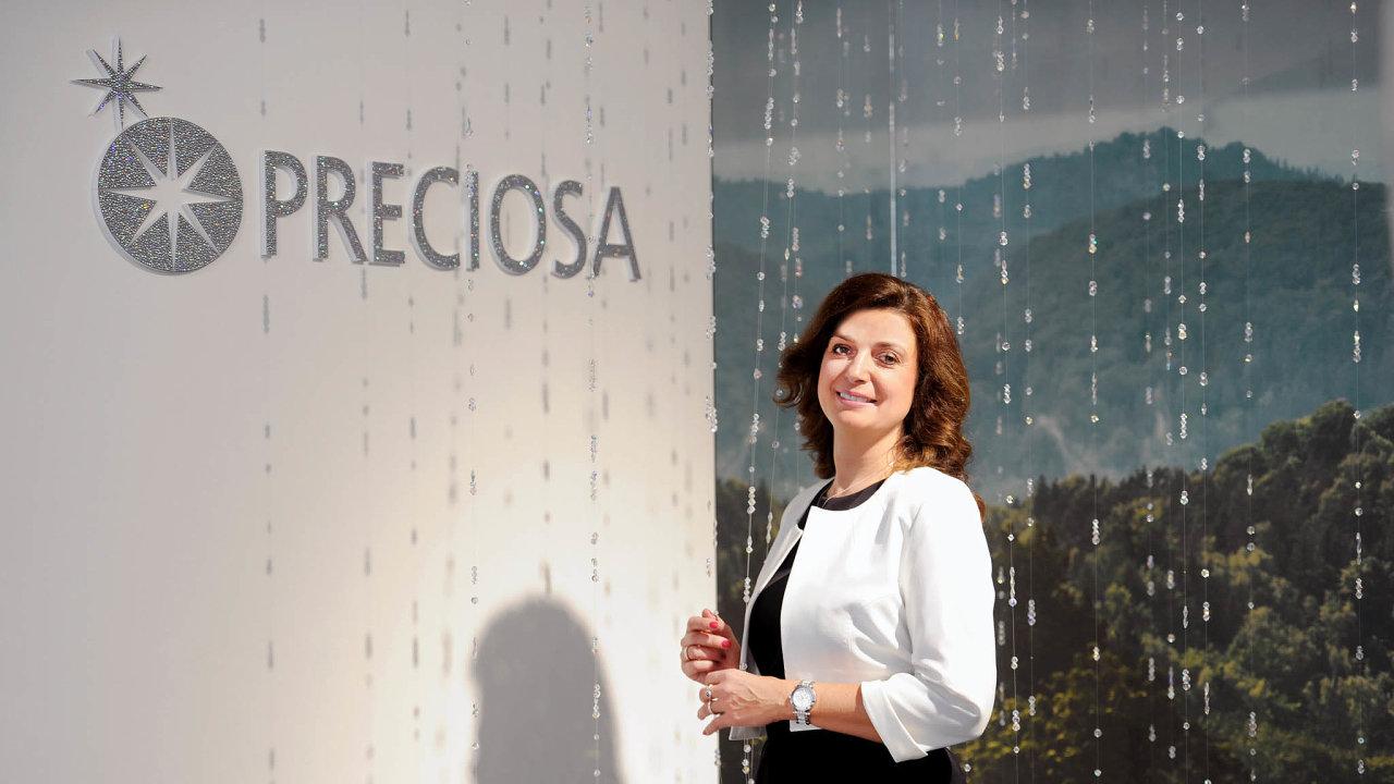 Jana Havlíčková (44), členka představenstva a personální ředitelka Preciosy