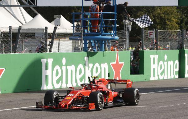 Velkou cenu Itálie vyhrál Charles Leclerc ze stáje Ferrari.