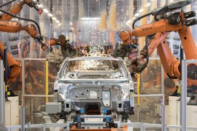 Průmyslové zakázky v Německu klesly. Zpomalování německé ekonomiky začíná pociťovat i český průmysl - Ilustrační foto.
