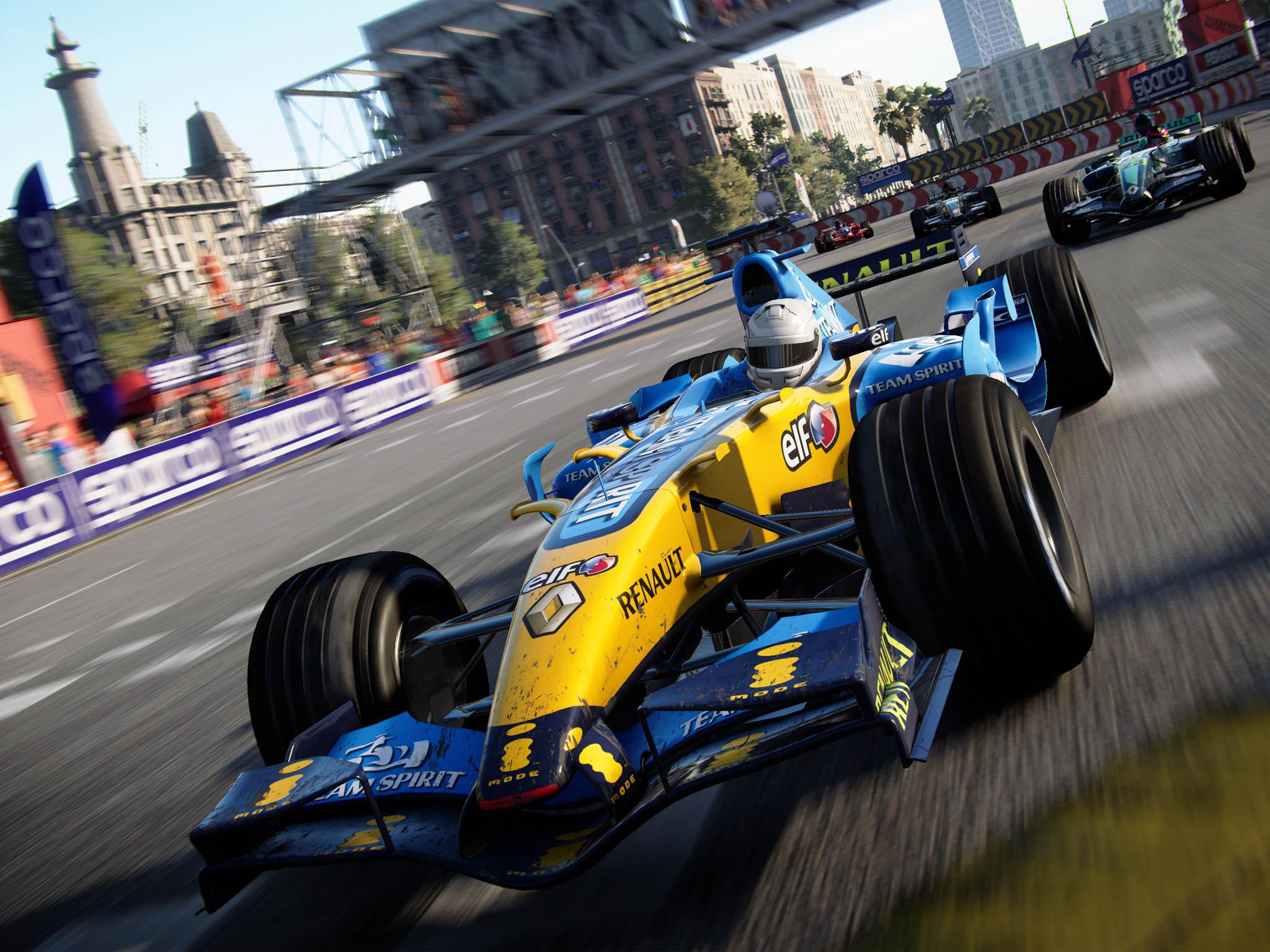 Vnabídce hry sprostým názvem Grid je stovka závodů vrůzných třídách vozidel odcestovních přes rallye až povůz F1 Renault R26 Fernanda Alonsa, který se podílel navývoji hry jako konzultant.