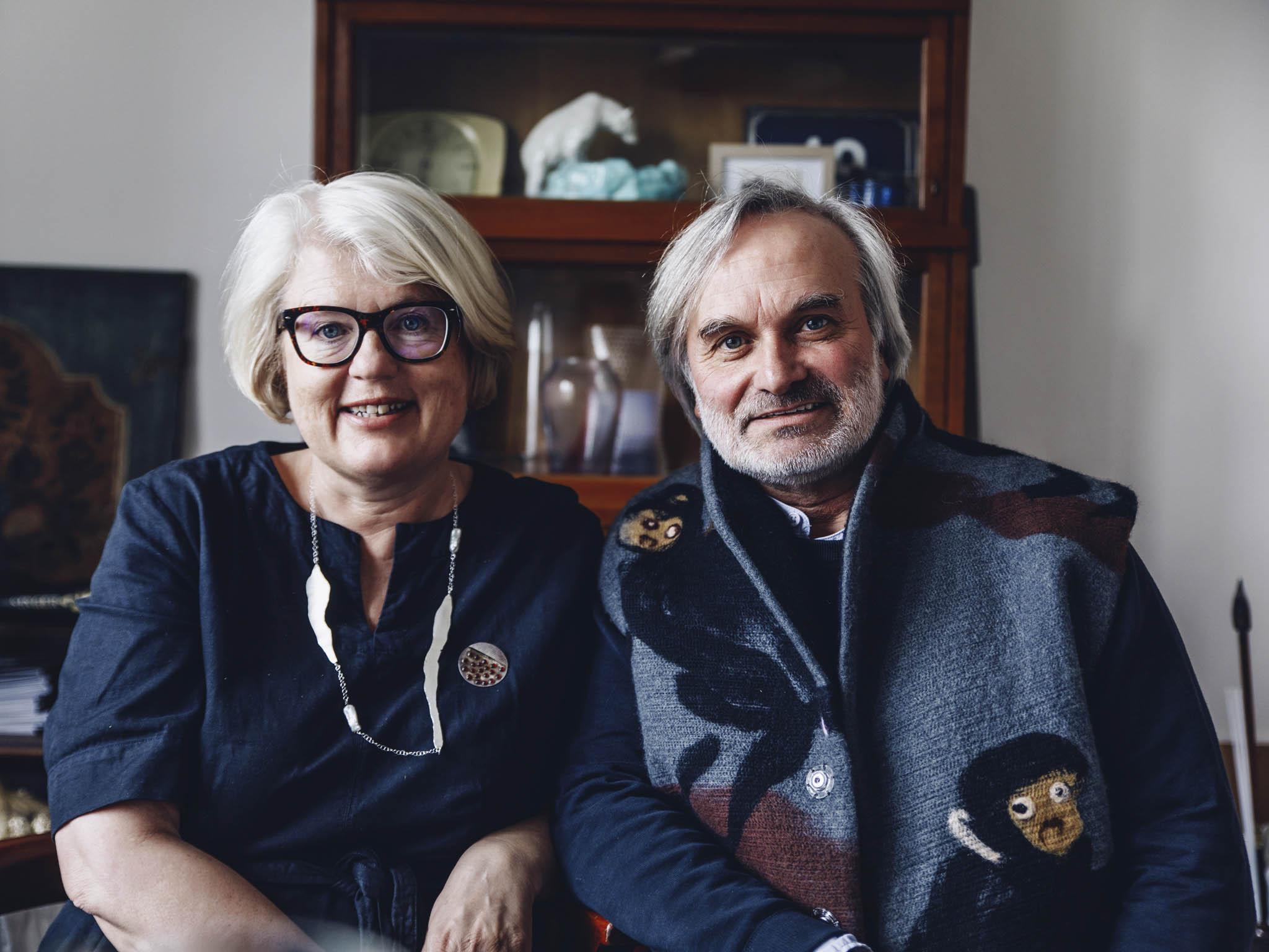 Zakladatelé Happy Materials Lucie Havlová aTomáš Hendrych
