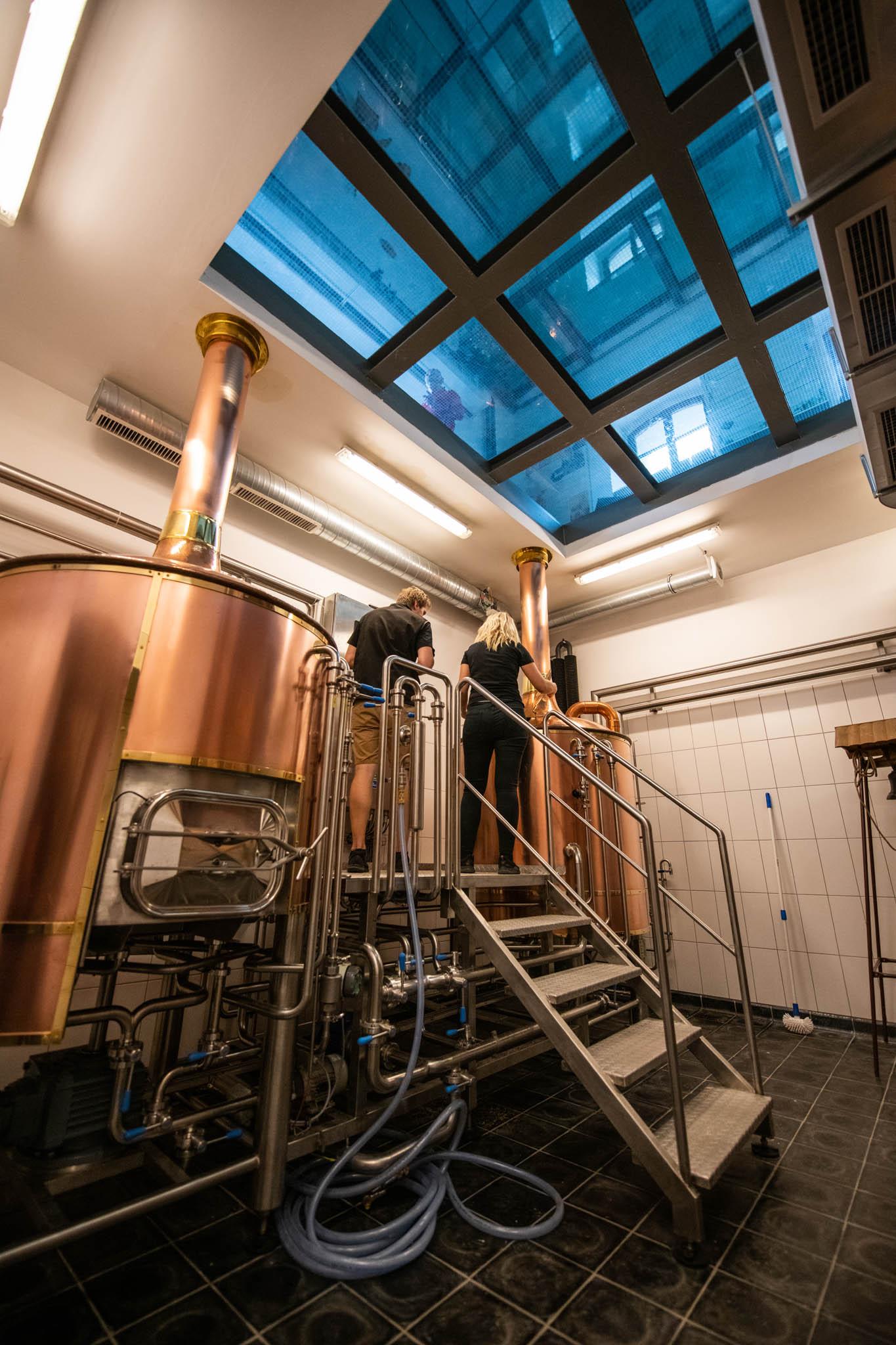 Maximální kapacita pivovaru je 3000 hektolitrů ročně. Současný plán zatím počítá sročním výstavem okolo 1000 až 1500 hektolitrů. Historický pivovar přitom vyráběl výrazně více piva.