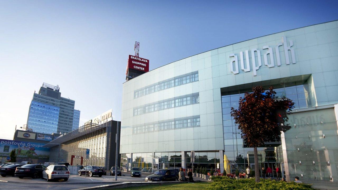 Bratislavské obchodní centrum Aupark.