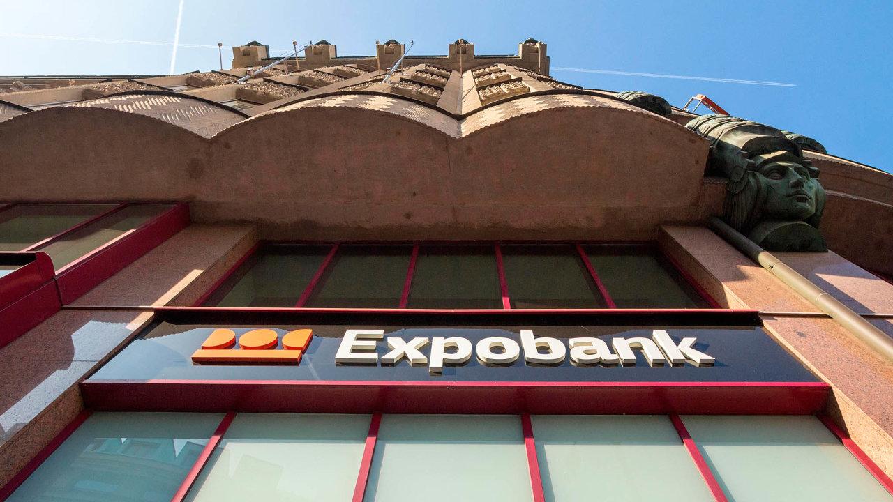 Expobank patří mezi nejmenší tuzemské banky.