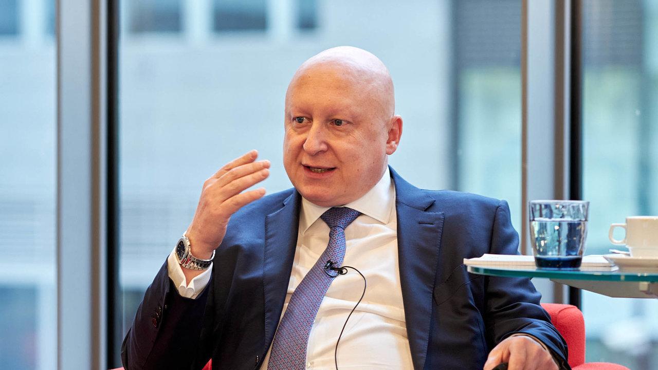 Předseda představenstva a generální ředitel Skupiny ČEZ Daniel Beneš