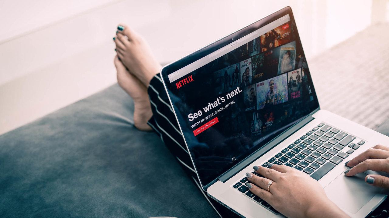 Čísla o hospodaření za předchozí čtvrtletí v úterý zveřejní internetová televize Netflix.