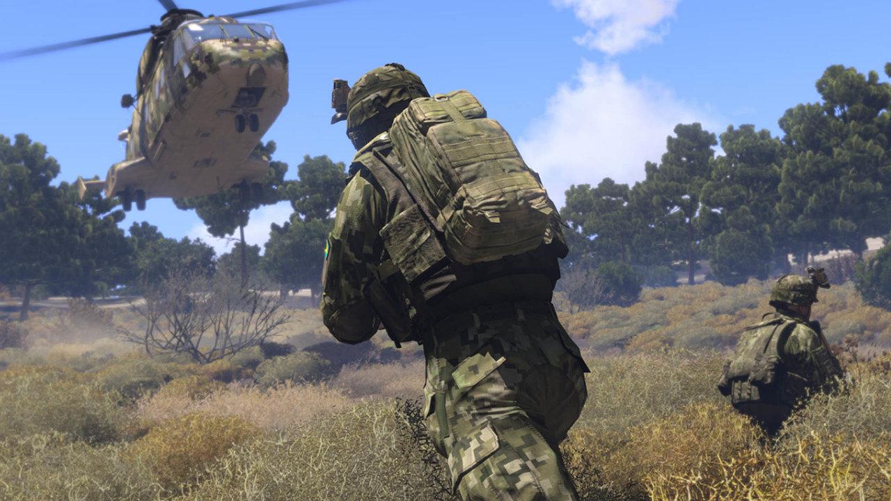 Úspěšné studio. Jeden znejoblíbenějších titulů studia Bohemia, vojenskou simulaci ArmA 3, hraje skoro 2,5 milionu lidí zcelého světa.