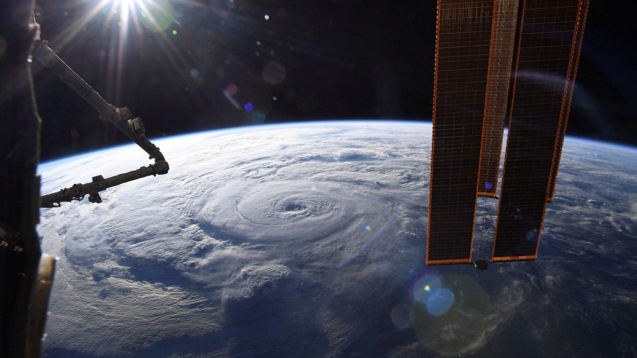 hurikán, vesmír, Země, planeta