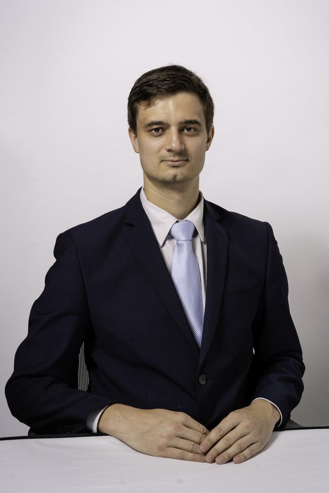 Theodor Pokorný, analytik pro průzkum trhu Colliers