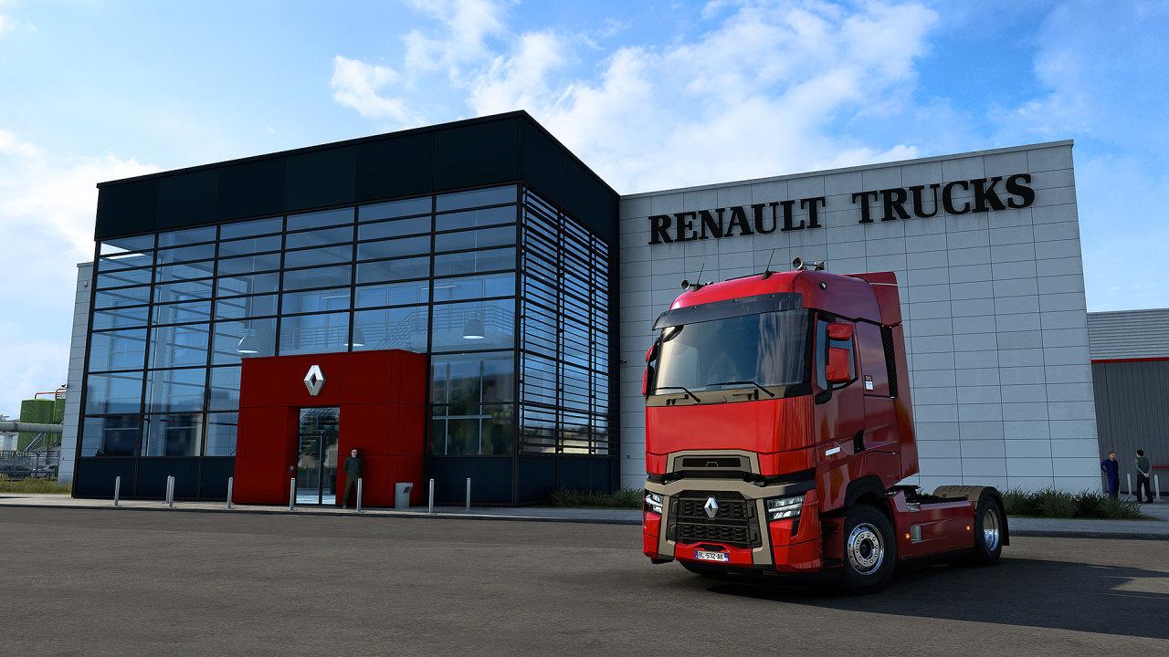 Prezentace nového kamionu Renault Trucks model T proběhlo prostřednictvím živého přenosu v rámci počítačové hry.